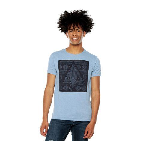 Camiseta-para-Hombre-Estampada-Fullmy-1-azul-coronet-blue-melange