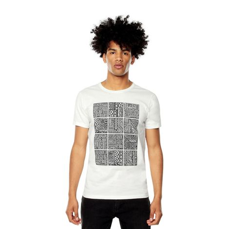 Camiseta-para-Hombre-Estampada-Mode-1-blanco-snow-white