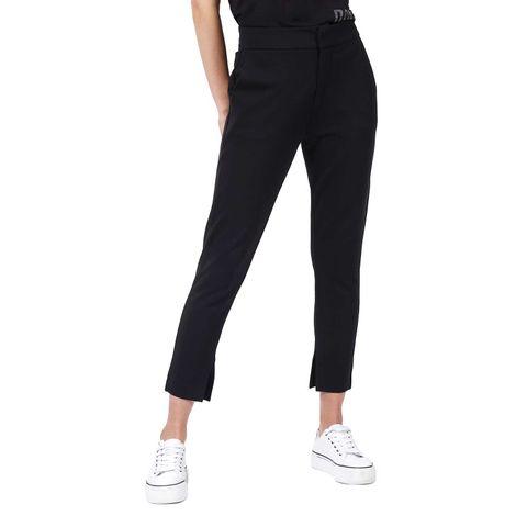 Pantalon-Para-Mujer-Color-Negro-Tipo-Chino-Flat