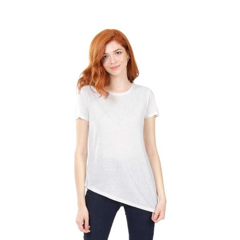 Camiseta-Para-Mujer-Color-Blanco-Unicolor-Argarot